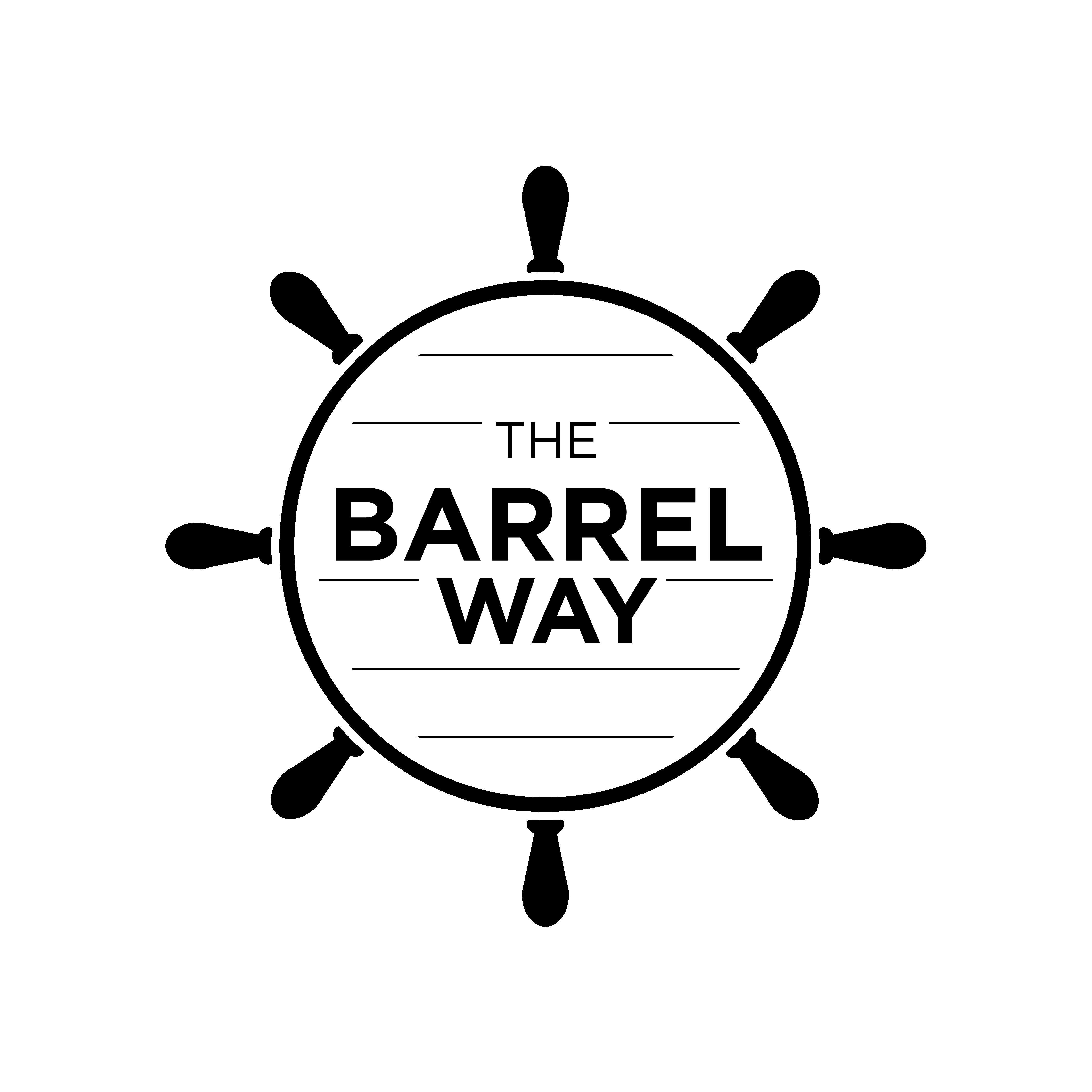 the barrel way logo